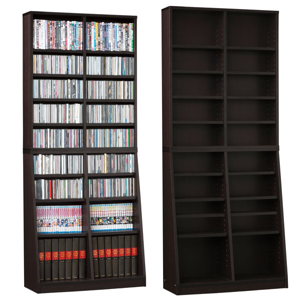 【送料無料】【TD】SOHO書棚W75 31122 収納 リビング収納 小物収納 インテリア収納 整理 【代引不可】【クロシオ】