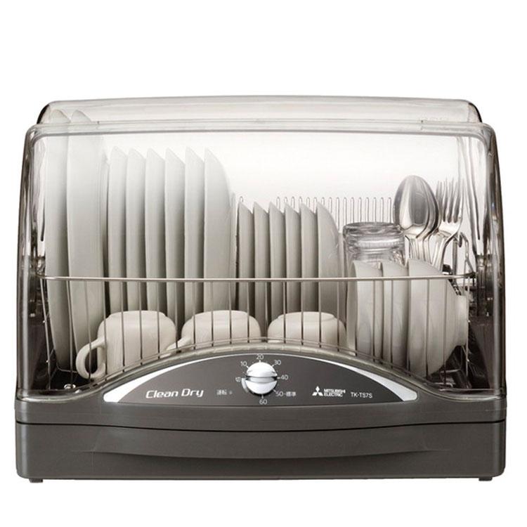 乾燥機食器ドライヤー食器乾燥機6人用mitsubishi抗菌加工ステンレス高温乾燥食器乾燥機ウォームグレー三菱電機