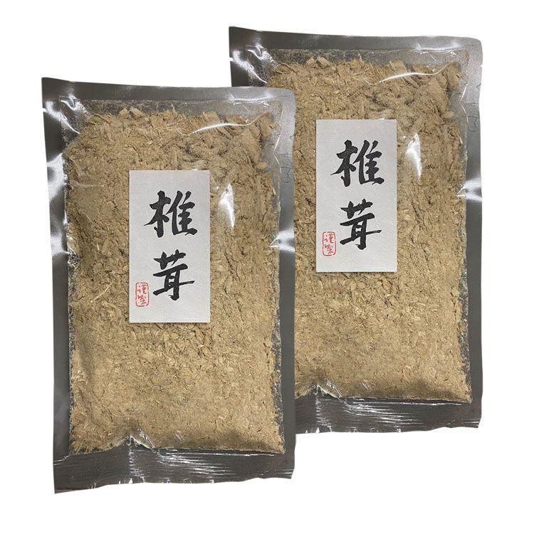 OUTLET SALE しいたけ 新品 粉 国産 ビタミンD 2袋 80g 国産椎茸粉 D 三幸