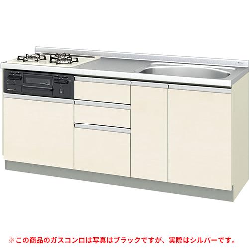 メーカー直送 リクシル 取り替えキッチン パッとりくん GXシリーズ フロアユニット [GX*-U-180SNAD**] 間口180cm ラウンド68シンク