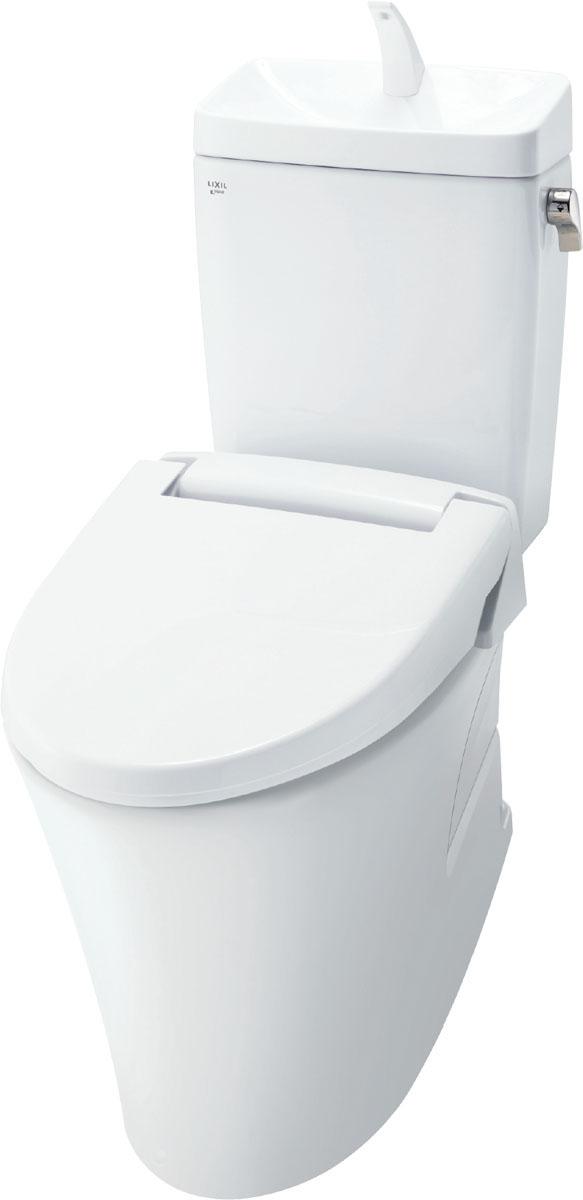 LIXIL INAX トイレ アメージュZ便器 リトイレ(フチレス) [BC-ZA10HBN8-DT-ZA180HBN8] 便座なし 手洗付 一般地 リクシル イナックス オフホワイト