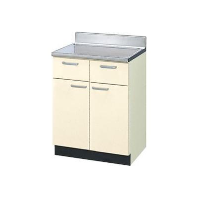 メーカー直送品 LIXIL リクシル セクショナルキッチン 木製キャビネット GKシリーズ 調理台 間口60cm[GK(F・W)-T-60Y]