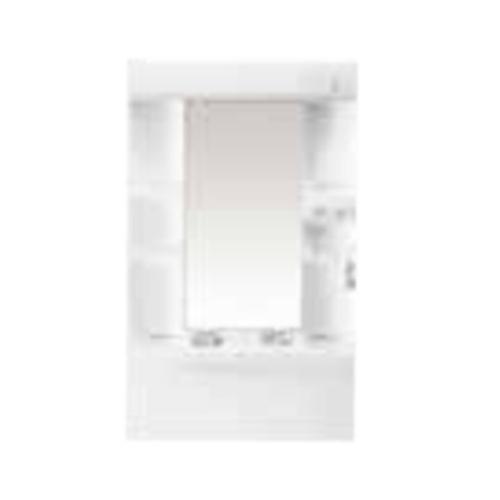 納期未定 パナソニック 洗面化粧台ミラー エムライン [GQM60K1NMK] ミラーキャビネットのみ 幅600mm 蛍光灯1面鏡 くもりシャットなし
