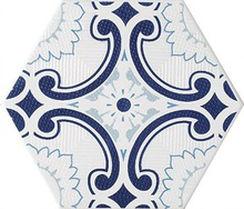 メーカー直送 タイムアンドガーデン6角形デザインタイル(磁器質タイル) スカンジナビアンスノーフレイク 602 [ScandinavianSnowflake-602-38] 38枚(m2)
