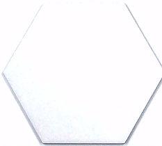 メーカー直送 タイムアンドガーデン6角形デザインタイル(磁器質タイル) スカンジナビアンスノーフレイク 609(無地) [ScandinavianSnowflake-609-38] 38枚(m2)