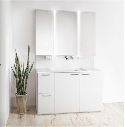 最終決算 ウツクシーズ パナソニック [GD-12R] 幅1200mm:e-キッチンマテリアル 洗面化粧台-木材・建築資材・設備