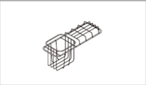 パナソニック Lクラスオプション ラウンドアクセスシンク用ダストネット(シーザーストーン用) [JUG51SC2P]