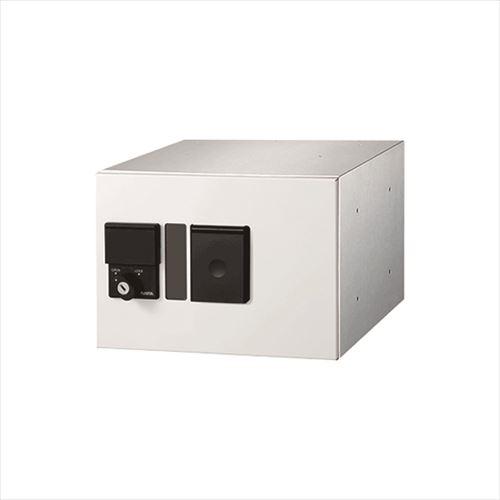 メーカー直送 ナスタ 宅配ボックス [KS-TLP280LB-S200N-W] プチ宅 防滴型 捺印付 色:ホワイト【宅配ボックス】