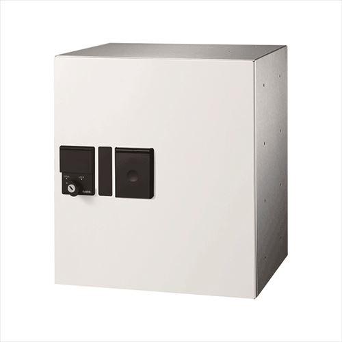 メーカー直送 ナスタ 宅配ボックス [KS-TLP360LB-S400N-W] プチ宅 防滴型 捺印付 色:ホワイト【宅配ボックス】