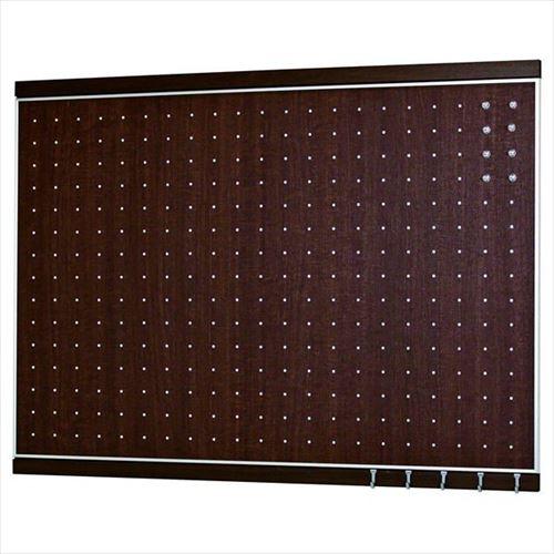 オリジン ウォールラック [MR4056] MR4056 フック付マグネットボード セピア 600×900
