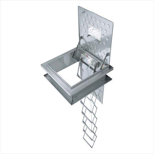 メーカー直送 ヤマトプロテック 避難はしご [RKC-710-50(RH-12XF)] 非常用避難口レクスター避難ハッチ「改修用RKCタイプ」ハッチ枠・梯子セット 12段