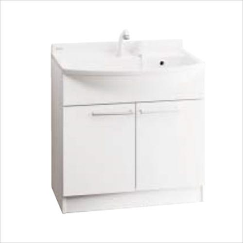 納期約1週間 パナソニック 洗面化粧台 サービス エムライン GQM75KECW エコカチット 本体キャビネット 倉 幅750mm 止水栓別途 本体キャビネットのみ