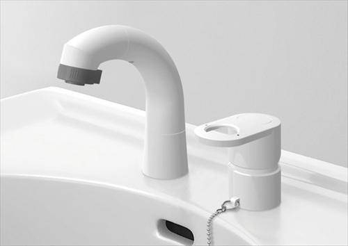 メーカー直送 ハウステック 洗面化粧台 QVシリーズ [JL241SE-05] ホワイト水栓 一般用 エコタイプ 水栓のみ