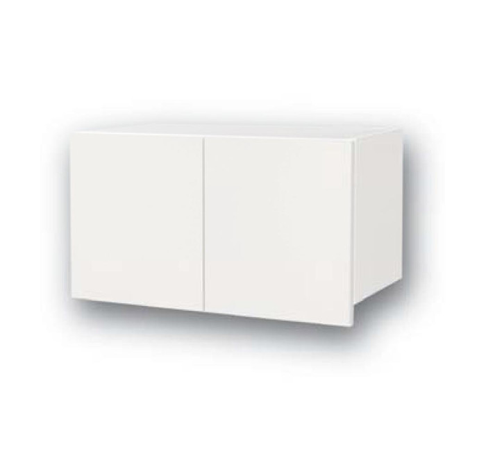 メーカー直送 オークス トイレ収納棚 「完成品!」トイレ収納ラックSタイプ [JP51372] ホワイト 背板付で?膏ボードでも取付け可能 日本製