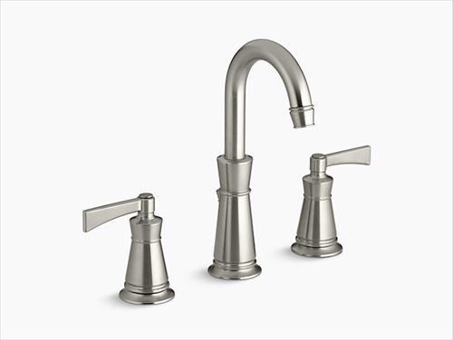 メーカー直送 KOHLER(コーラー) 洗面用水栓 Archer(アーチャー) 2ハンドルワイドスプレッド 洗面用水栓 [K-11076-4-BN]