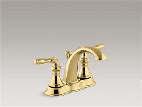 メーカー直送 KOHLER(コーラー) 洗面用水栓 Devonshire(デボンシャー) 2ハンドルセンターセット 洗面用水栓 [K-393-N4-PB]