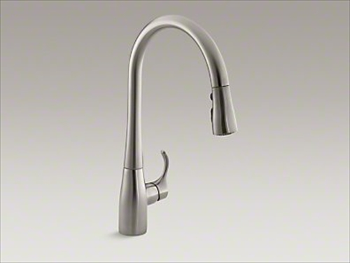 メーカー直送 KOHLER(コーラー) キッチン用混合水栓 Simplice(シンプライス) シングルレバー キッチン水栓 [K-596-VS]
