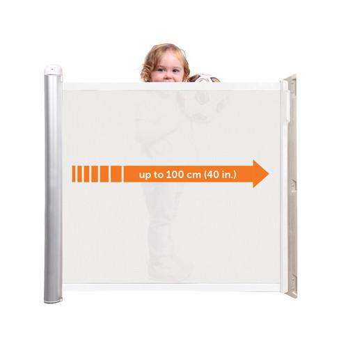 メーカー直送 ラスカル ティーレックス キディガードアクセント [kiddyguardacc] ベビーゲート ロール式 階段上設置可能 瞬時にロック