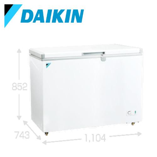 メーカー直送 ダイキン 冷凍庫 冷凍ストッカー [LBFG3AS] 300Lクラス 大容量 温度調整ダイヤル キャスター付 安心鍵付き