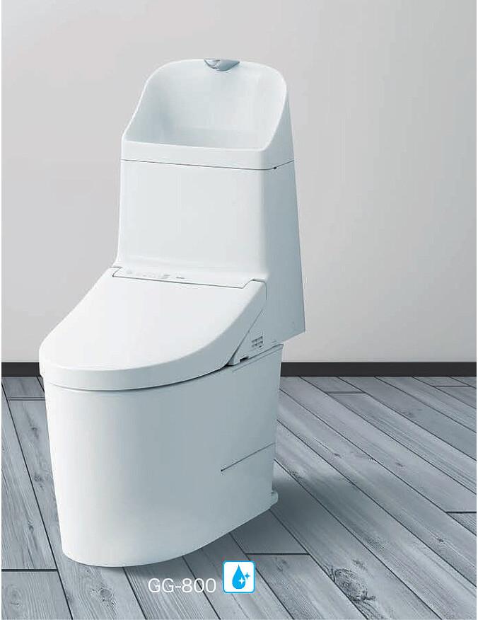 メーカー直送 TOTO タンク式ウォシュレット一体型便器 GG1-800 [CES9315H] 床排水・床給水 排水心:200mm ヒーター付便器・水抜併用方式
