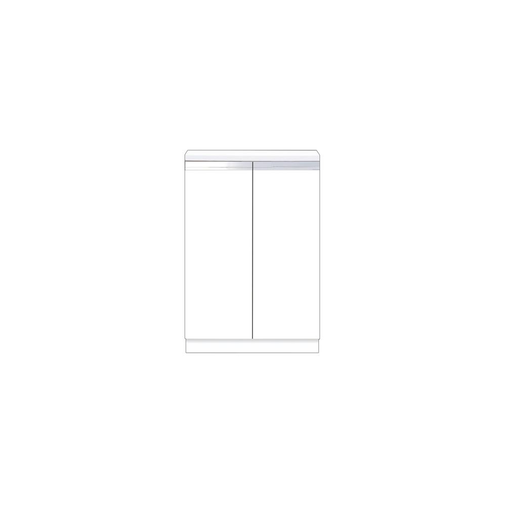 メーカー直送 【マイセット】BOX型 壁面収納 Y2 フロアユニット 据え付けタイプ 完成品 間口60cm 奥行36.5cm[Y2-60RC*] 道幅4m未満配送不可