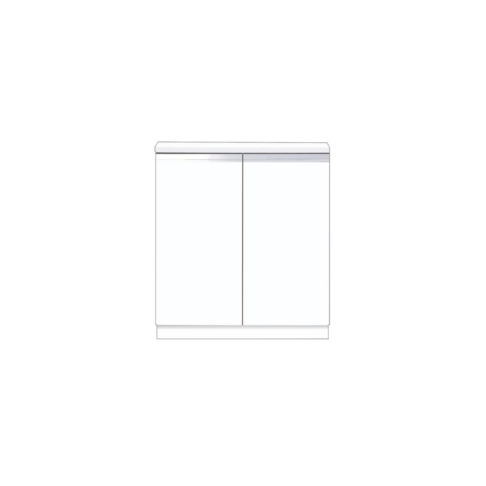 メーカー直送 【マイセット】BOX型 壁面収納 Y2 フロアユニット 据え付けタイプ 完成品 間口80cm 奥行36cm[Y2-80RC*] 道幅4m未満配送不可