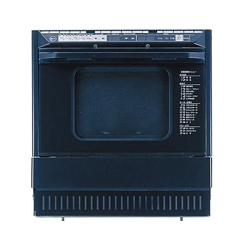 送料無料 パロマ [PCR-510E(13A)] コンビネーションレンジ 13A 都市ガス 自動調理機能搭載 高速ガスオーブン 電子レンジ ブラックタイプ Paloma