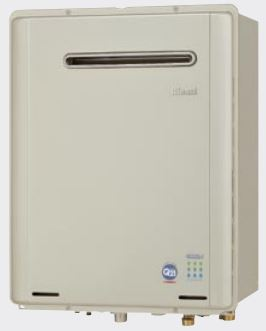 送料無料 ガスふろ給湯器RUF-TE2400SAW(A) エコジョーズRUF-TE設置フリータイプ屋外壁掛形(PS設置不可)オート24号リンナイ Rinnai
