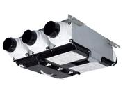 送料無料 三菱 換気扇 ロスナイセントラル換気システム 薄形耐湿タイプ 耐水紙製顕熱交換器 VL-15CZ3-L MITSUBISH