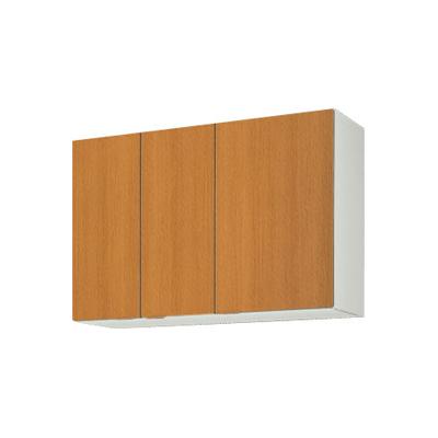 メーカー直送品 LIXIL リクシル セクショナルキッチン 木製キャビネット GSシリーズ 吊戸棚 間口105cm[GS(M・E)-AM-105Z]高さ70cm