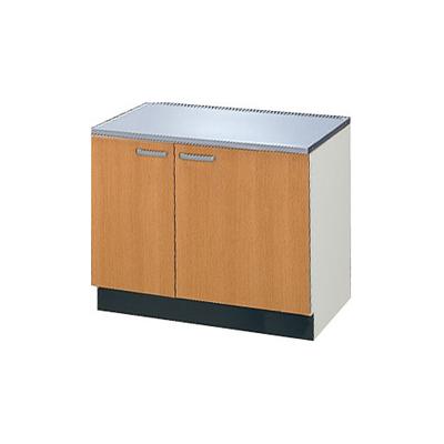 メーカー直送品 LIXIL リクシル セクショナルキッチン 木製キャビネット GSシリーズ コンロ台 間口75cm[GS(M・E)-K-75K]