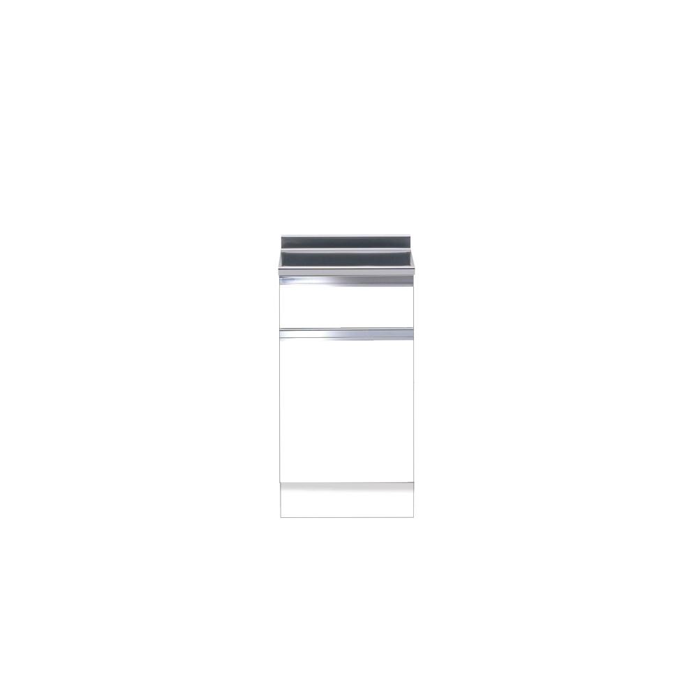 メーカー直送受注生産品 マイセット キッチン 単体キッチン ハイトップ 調理台 S1 間口45cm[S1-45T**]【MYSET】 エリア限定 キャンセル不可 道幅4m未満配送不可