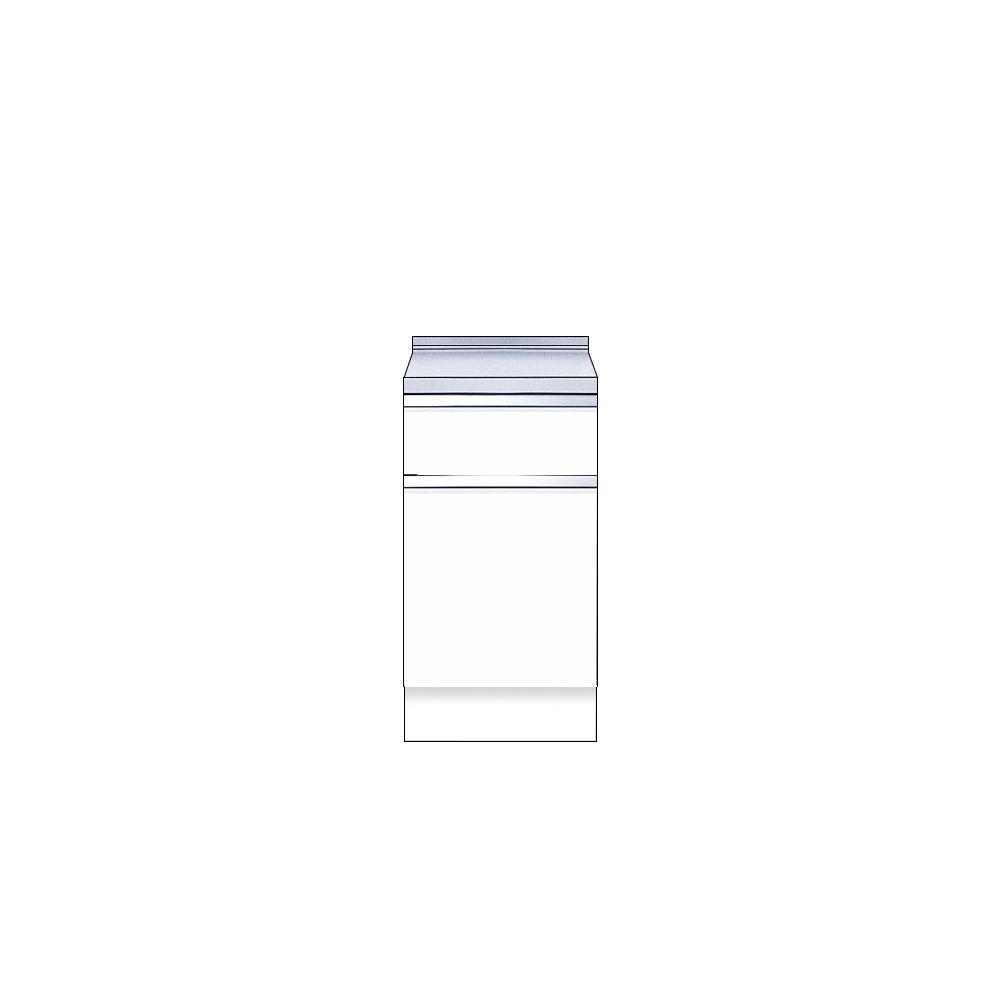 メーカー直送 送料無料受注生産品 マイセット キッチン 単体キッチン 深型 調理台 S2 間口45cm[S2-45T***]【MYSET】 エリア限定 キャンセル不可 道幅4m未満配送不可
