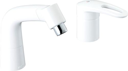 【LIXIL】【リクシル】洗髪・洗面用水栓 FWP・FYP/洗面タイプマルチシングルレバー[LF-HX360SRN/BW1]【INAX】【イナックス】