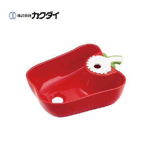 メーカー直送 カクダイ Da Reya アイキャッチ水栓 手洗器 国産パプリカ レッド [493-157-R]