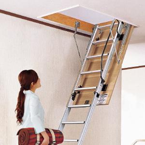 【送料別途お見積り】Panasonic 天井収納 はしご ユニット アルミタイプ 室内専用 8型 CW2817E パナソニック 送料無料ではありません