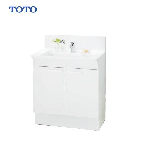 メーカー直送 TOTO Bシリーズ 洗面化粧台 下台 [LDBA075BAGMN1A] 750mm エコシングル混合水栓