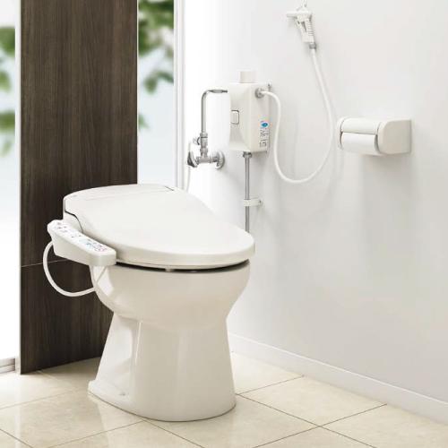 メーカー直送 アサヒ衛陶 簡易水洗トイレ [RNA001I] ニューレット 便器+普通便座セット