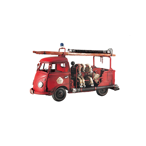 メーカー直送 東洋石創 THE GROBAL MARKET ブリキのおもちゃ(fireengine) [27122] 1セット