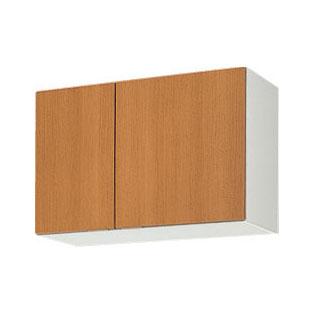 メーカー直送品 LIXIL リクシル セクショナルキッチン 木製キャビネット GSシリーズ 吊戸棚 間口75cm[GS(M・E)-A-75]高さ50cm