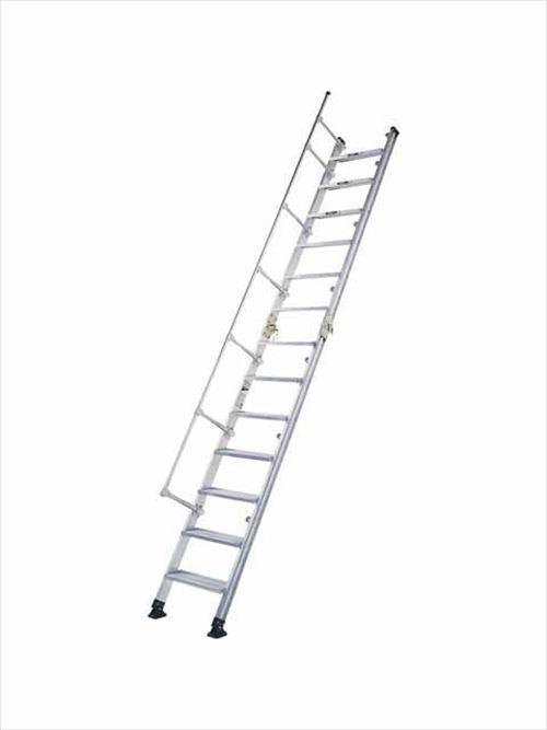 メーカー直送【法人様限定】 アルインコ(ALINCO)はしご 階段はしご [HC40] 全長 4.11m 収納長 2.26m 詳細は商品説明をご確認ください