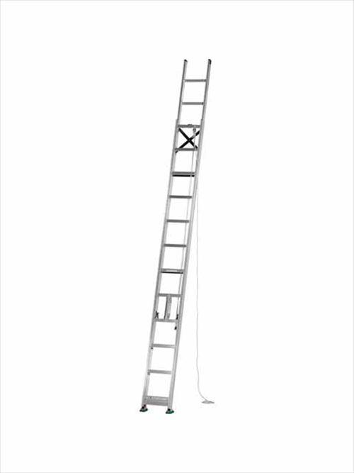 メーカー直送【法人様限定】 アルインコ(ALINCO)はしご インサイド式 2連はしご [MD-60D] 全長 6.02m 詳細は商品説明をご確認ください