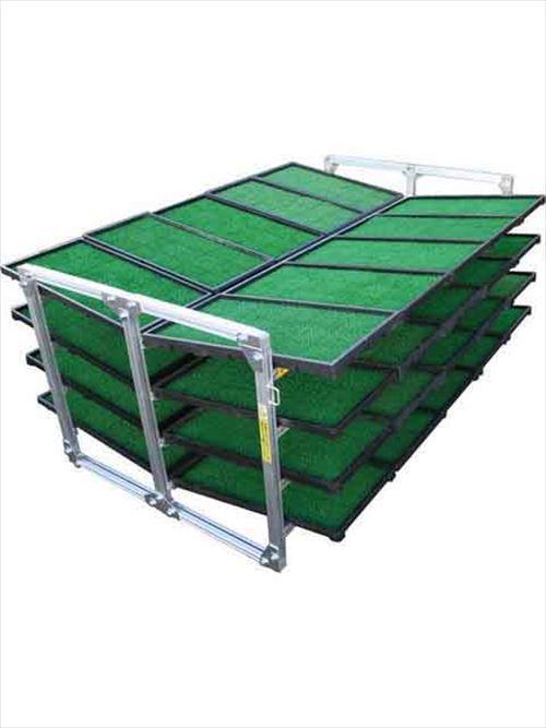 メーカー直送【法人様限定】 アルインコ(ALINCO)農業・運搬機材 苗箱収納棚 [NC-40K] 詳細は商品説明をご確認ください