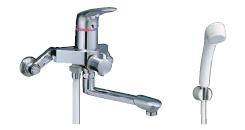 【LIXIL】【リクシル】シャワーバス水栓・シャワー専用水栓 浴槽・洗い場兼用シングルレバー[BF-7135SN]【INAX】【イナックス】