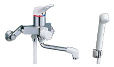 【LIXIL】【リクシル】シャワーバス水栓・シャワー専用水栓 浴槽・洗い場兼用シングルレバー[BF-M135SN]【INAX】【イナックス】