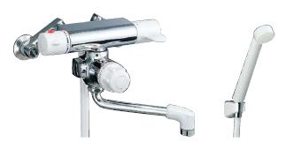【LIXIL】【リクシル】シャワーバス水栓 浴槽・洗い場兼用サーモスタット ミーティス[BF-M140TSD]【INAX】【イナックス】