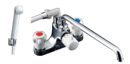 【LIXIL】【リクシル】ホールインワン浴槽専用水栓 ミーティス[BF-M607H-GA]【INAX】【イナックス】