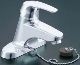 【LIXIL】【リクシル】洗面器・手洗器用水栓 EC/センターセットタイプシングルレバー ビーフィット[LF-B355S]【INAX】【イナックス】