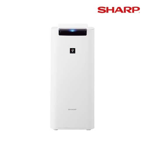 【アウトレット】 シャープ 加湿空気清浄機 [KI-JS40-W] ホワイト系 箱つぶれ 新品未使用 あす楽