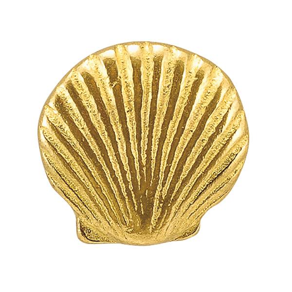 納期未定欠品中 ゴーリキアイランド 期間限定の激安セール 真鍮 ツマミ キャラクターシリーズ 金色 アンティーク ブラス シェル 雑貨 超特価 620449